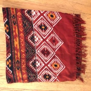 H&M Tribal Print Scarf